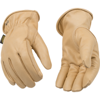 LINED GRAIN COWHIDE DRIVER GLOVE