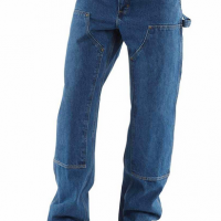 LOOSE/ORIGINAL DOUBLE FRONT WASHED LOGGER