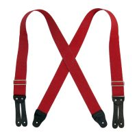 FLAT LEATHER END 1 1/2″ SUSPENDERS