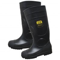 PVC STEEL TOE KNEE BOOT