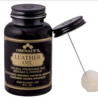 LEATHER OIL 8 OUNCE