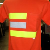 WA WORKWEAR HI-VISIBILITY POCKET SHIRT