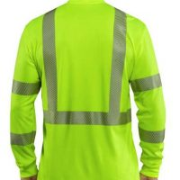 FORCE HI-VIS LONG SLEEVE CLASS 3 T-SHIRT