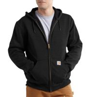 RAIN DEFENDER RUTLAND THERMAL-LINED HOODED ZIP-FRONT