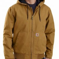 WASHED DUCK INSULATED ACTIVE JACKET