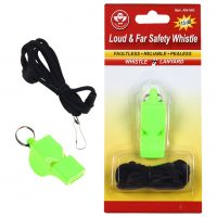LOUD AND FAR SAFETY WHISTLE
