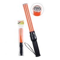 HIGH INTENSITY LED TRAFFIC BATON WITH FLASHLIGHT
