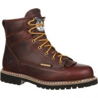 WATERPROOF LACE-TO-TOE STEEL TOE WORK BOOT