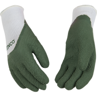 KIDS' POLYESTER KNIT SHELL AND LATEX PALM GLOVE