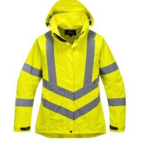 LADIES HI-VIS BREATHABLE JACKET