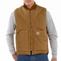 DUCK VEST / ARTIC-QUILT LINED