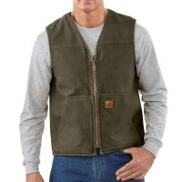 RUGGED SHERPA-LINED VEST