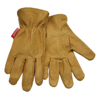 KIDS' GRAIN LEATHER DRIVER GLOVE