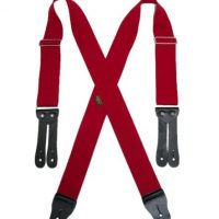 HOPSACK FLAT LEATHER END 2″ SUSPENDERS