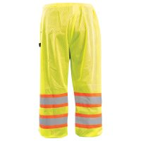 TWO-TONE MESH SAFETY PANTS
