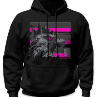 PINK SEATTLE STEALTH SAFETY HOODIE