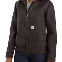 WOMEN'S WASHED DUCK INSULATED ACTIVE JACKET