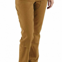 STRAIGHT FIT TWILL DOUBLE FRONT PANT