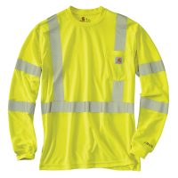 Carhartt Hi-Viz FORCE Class 3 Long Sleeve T-shirt