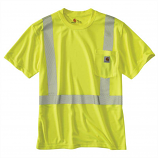 Carhartt Hi-Viz FORCE Class 2 Short Sleeve T-shirt